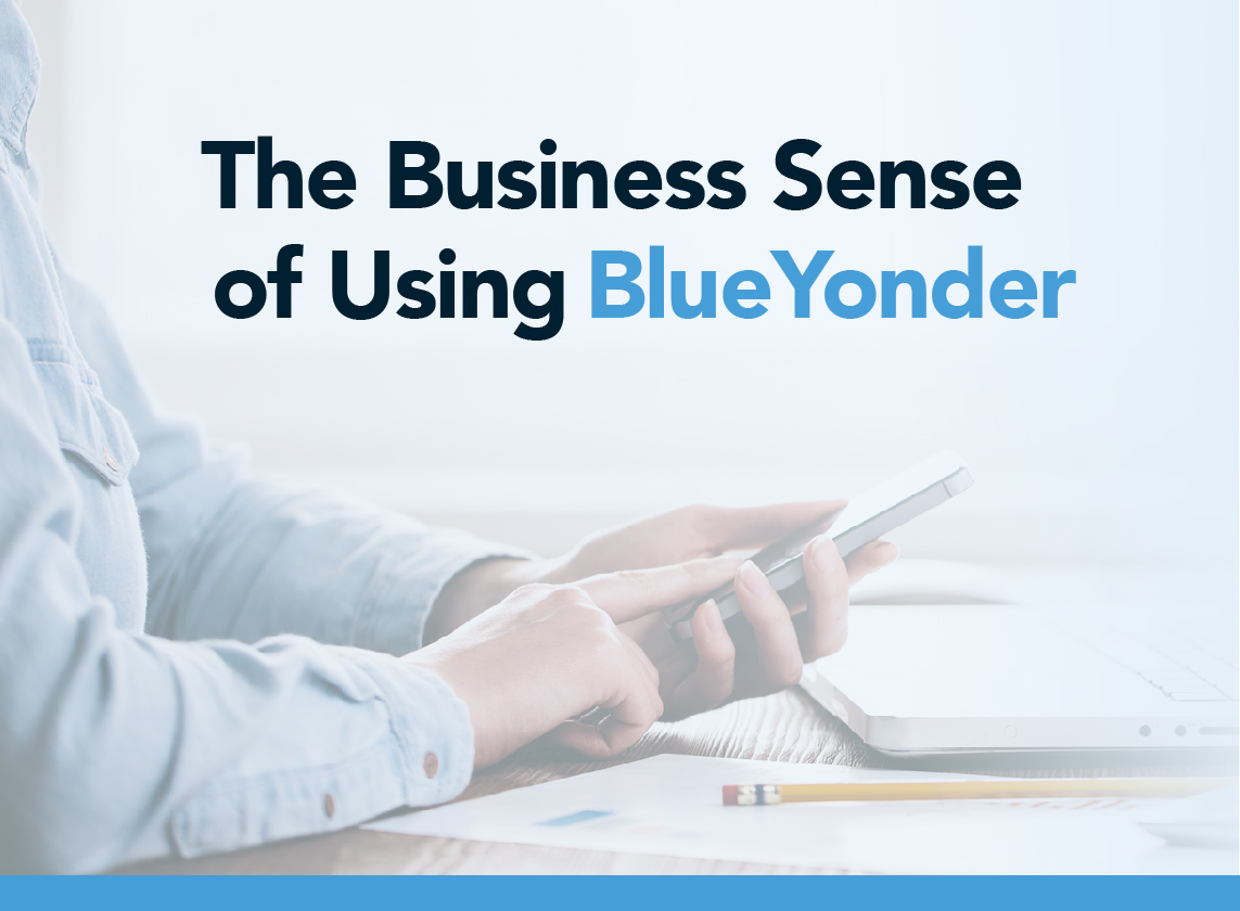 The Business Sense of Using BlueYonder